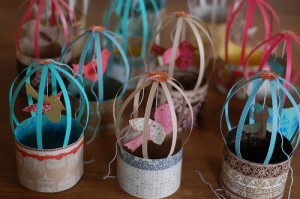 favors for a birdcadge wedding theme