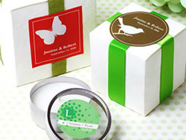 personalized labels for wedding favors