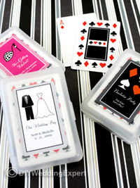 personalized vegas wedding cards