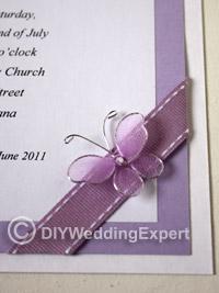 Diy Erfly Wedding Invitations
