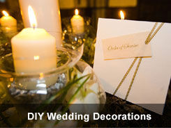 DIY wedding decorations - 'How to' tutorials