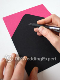 paper to line your wedding invitation envelopes