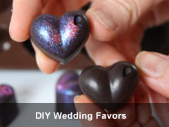 DIY wedding favors - 'How to' tutorials