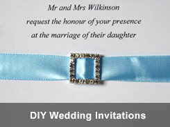 DIY wedding invitation - 'How to' tutorials