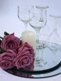 equipment needed to create a diy candle wedding centerpiece