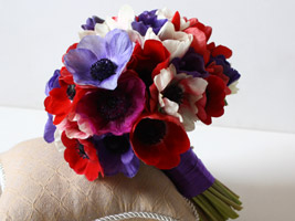 posy bouquet as a diy wedding bouquet idea