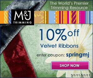 a banner for 10 percent off all velvet ribbons