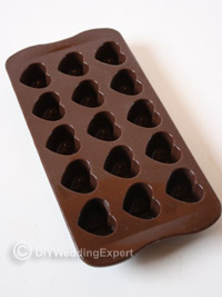 heart shaped chocolate mould
