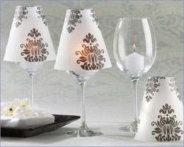 wedding candle shades